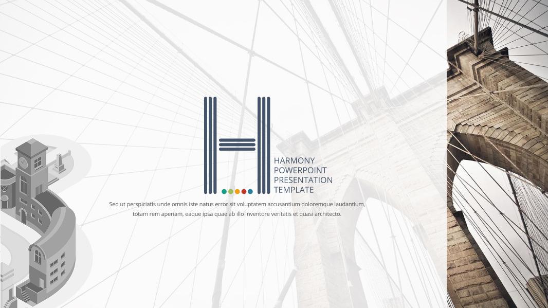 Harmony Google Slides Template