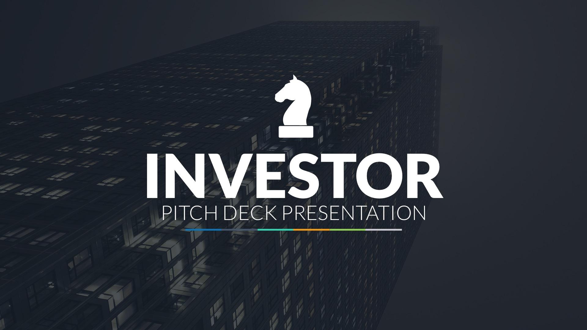Investor Pitch Deck Google Slides Template