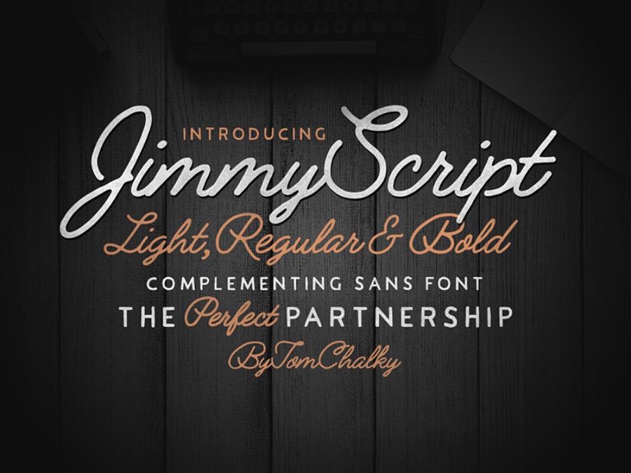 Jimmy Script Free Font