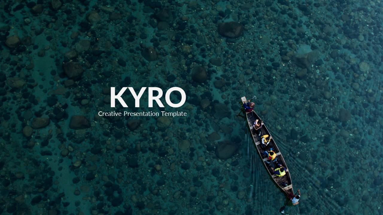 Kyro - Creative Google Slide Template