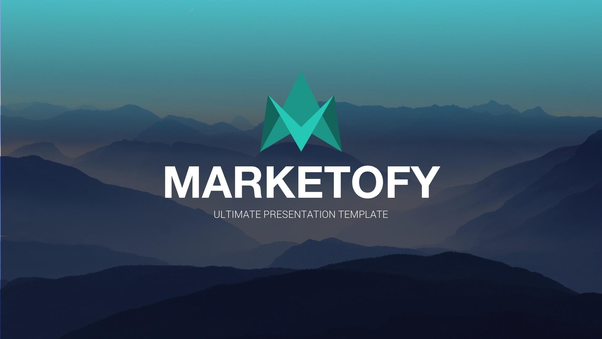 Marketofy - Ultimate Google Slides Template