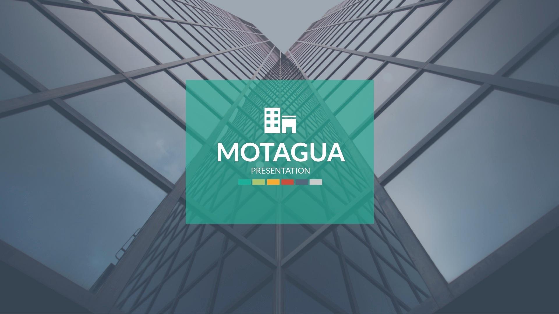 Motagua - Multipurpose Google Slides Template