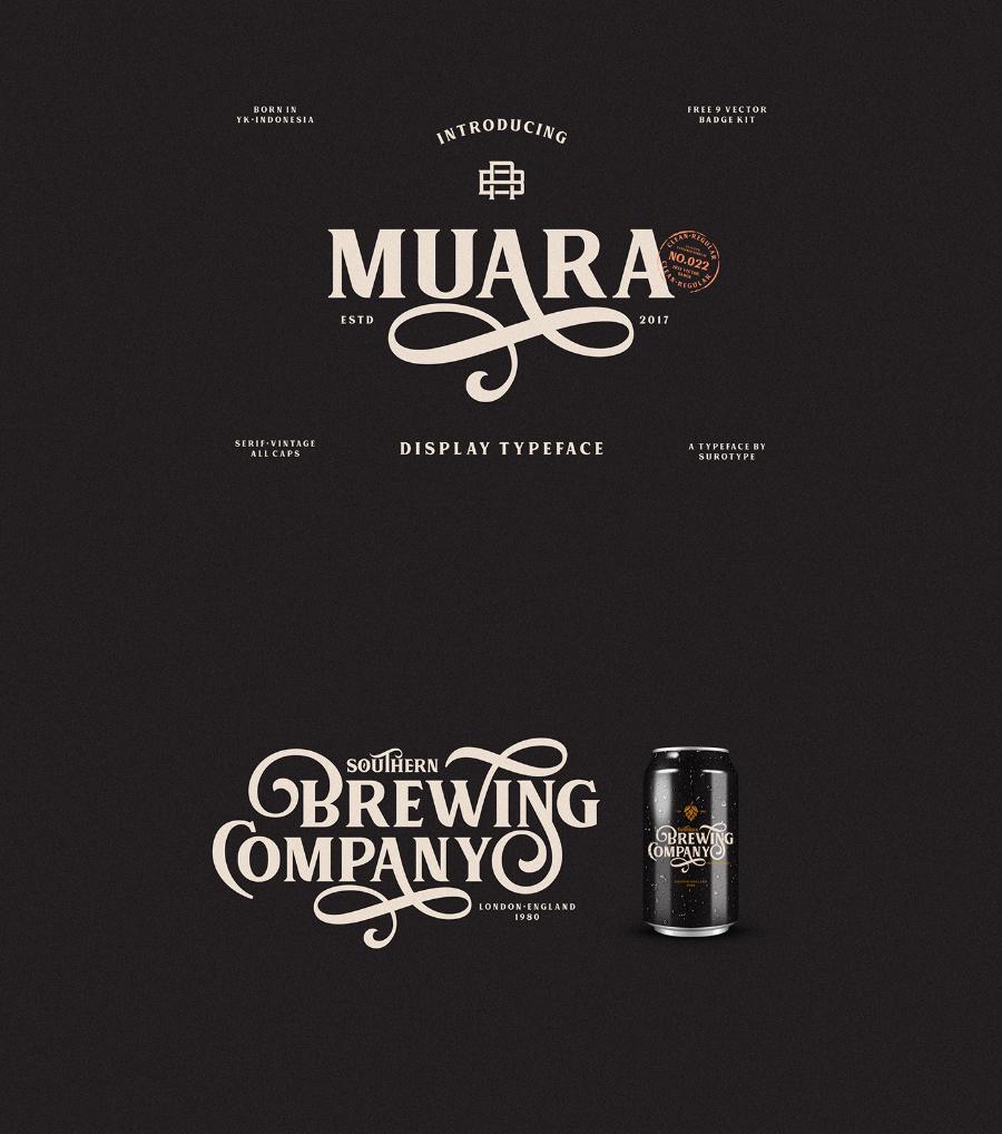 Muara Free Font