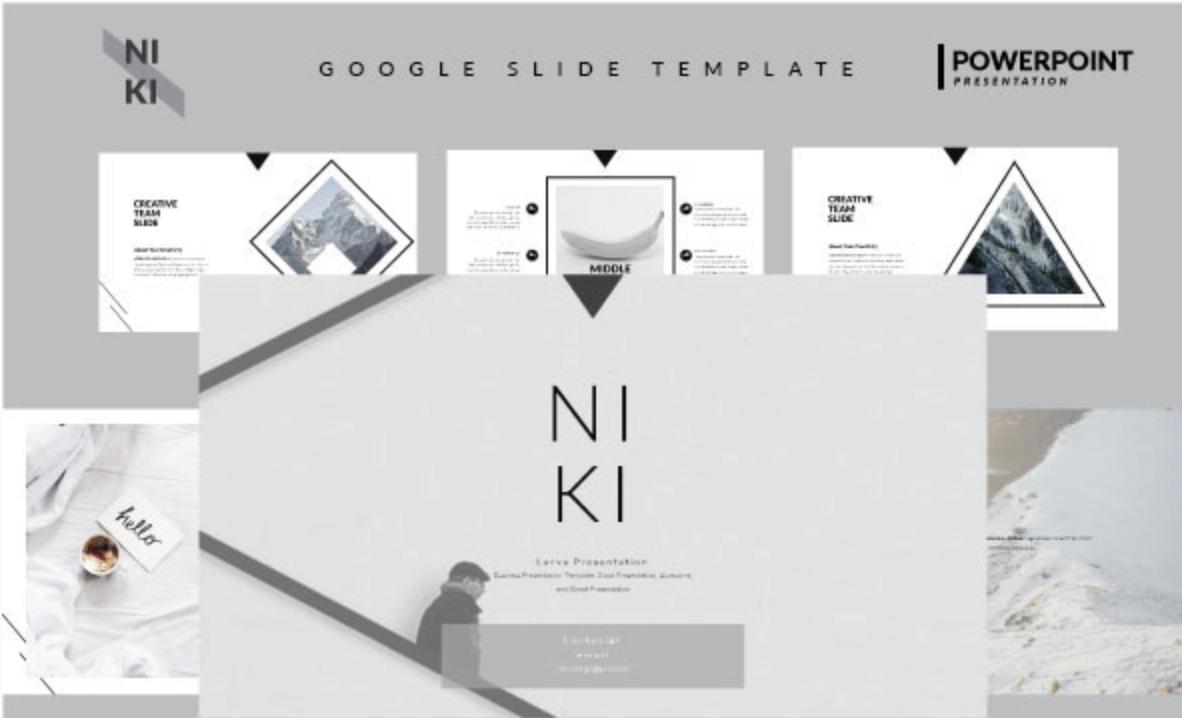 Niki - Google Slide Template