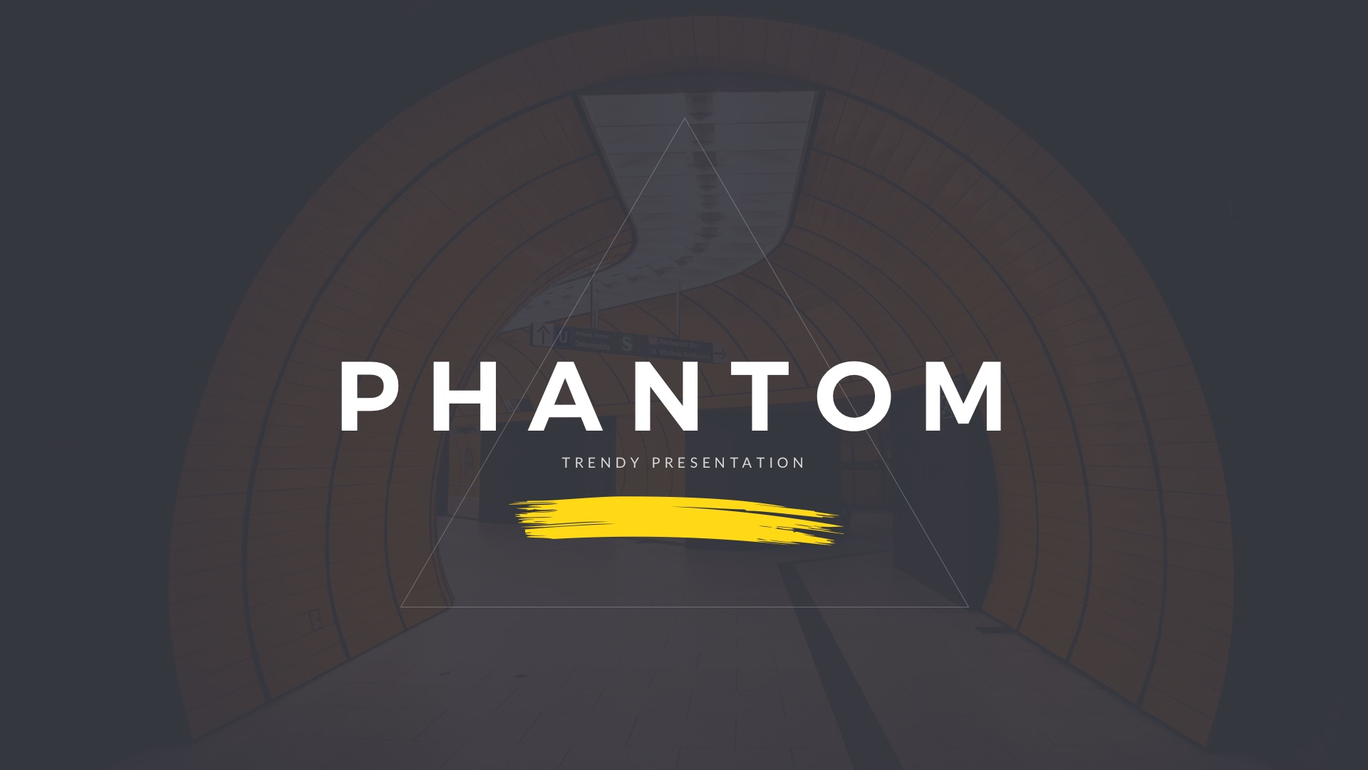 Phantom Modern Google Slides Template