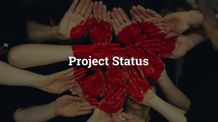 Project Status Google Slides