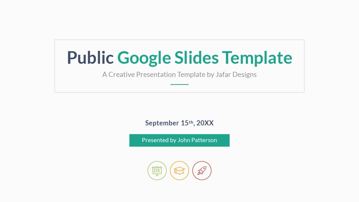 Public - Multipurpose Google Slides Template