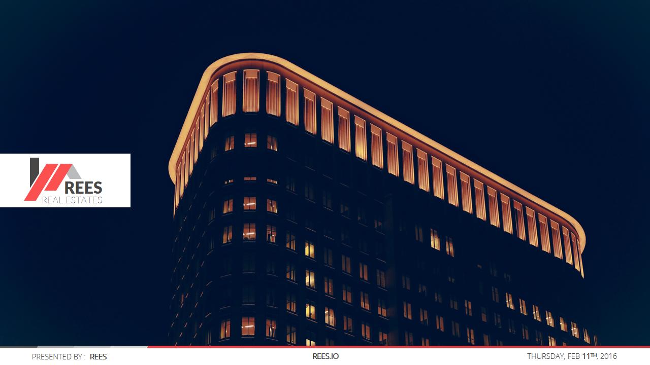 REES Business Google Slides