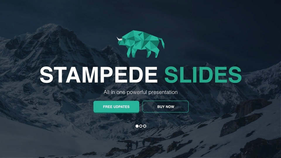 Stampede - Multipurpose Keynote Template