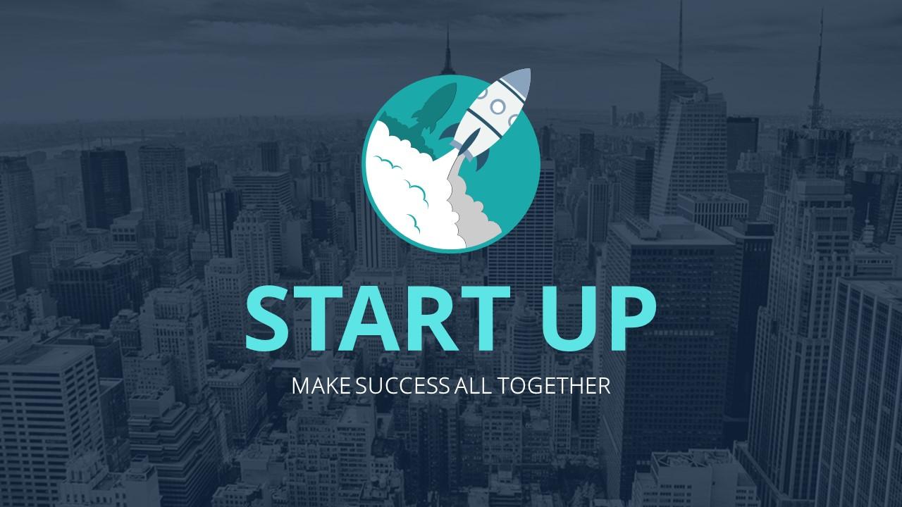 Startup Google Slides Template