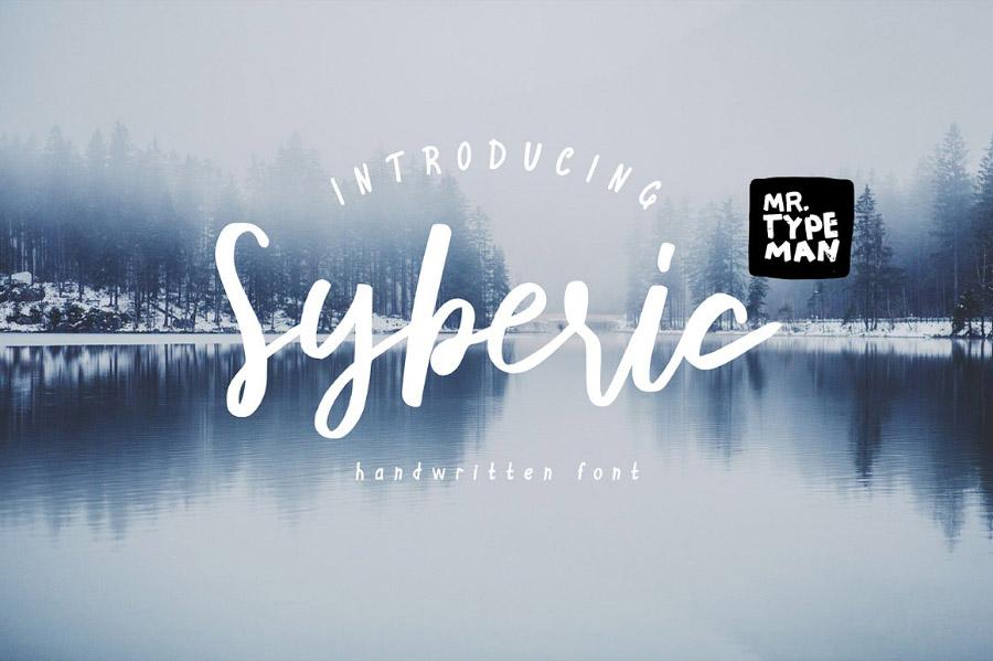 Syberic Free Font