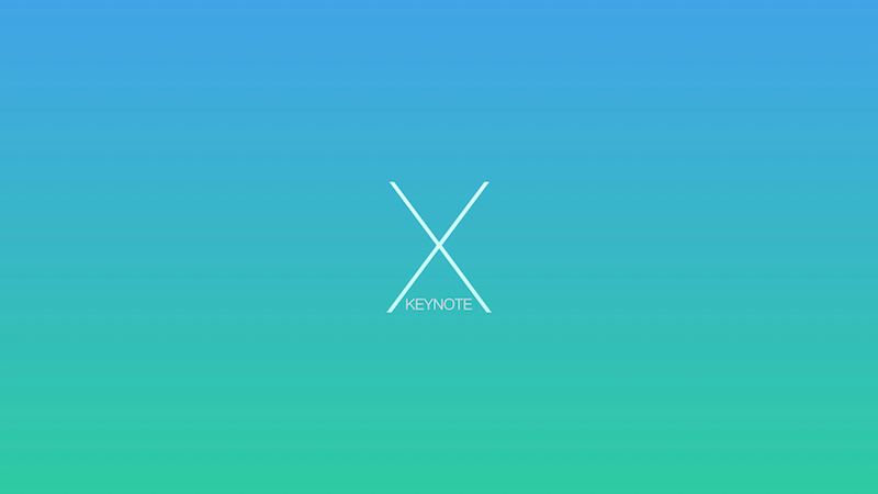 The X-note (Volume 2) - Keynote Template