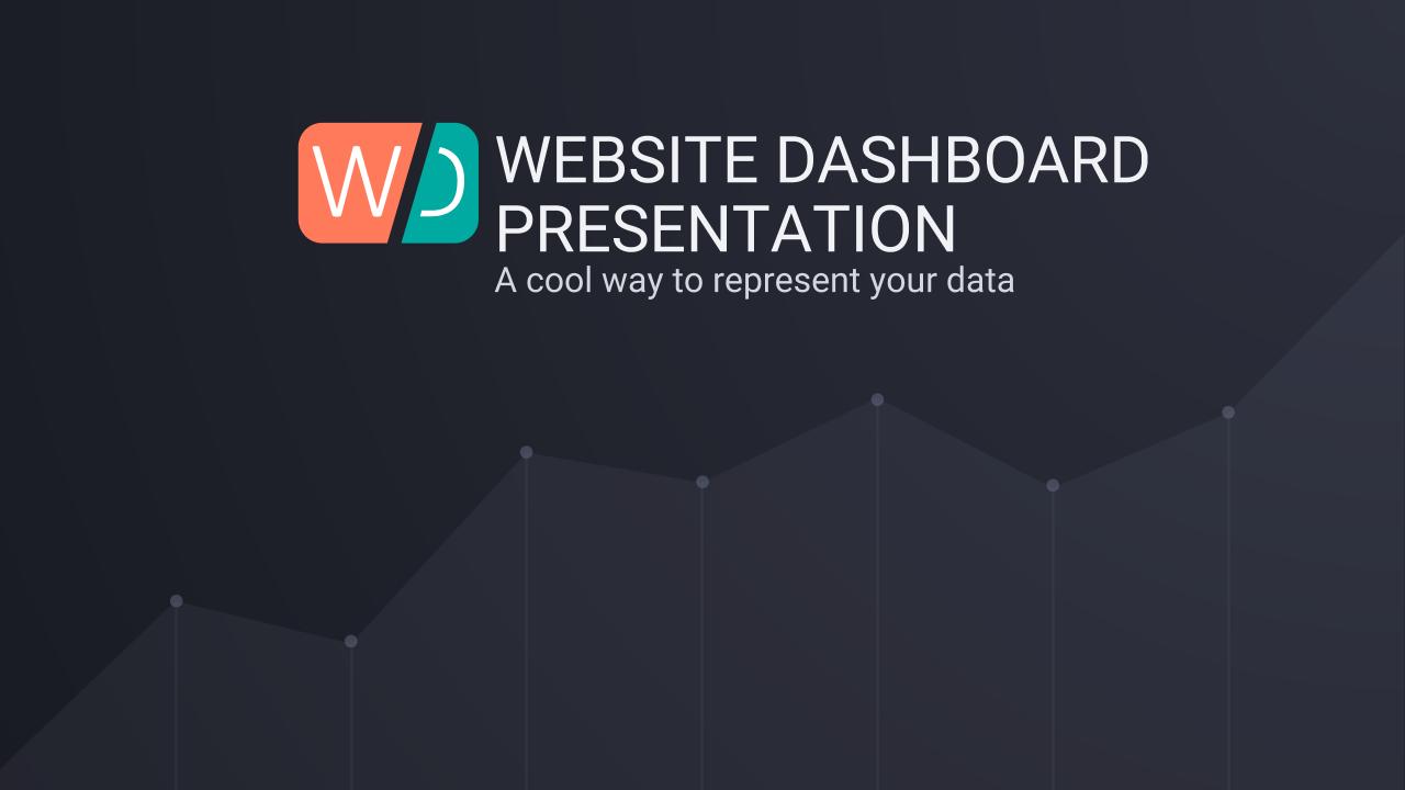 Website Dashboard Google Slides Presentation