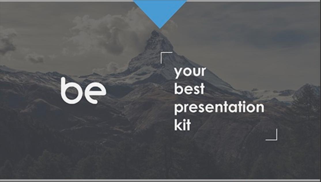 be Google Slides Template