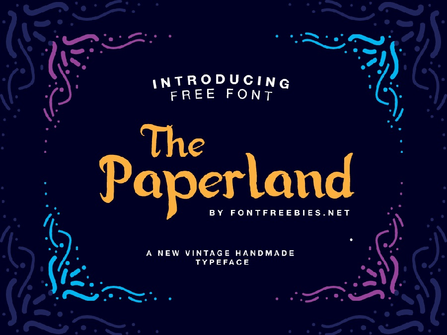 Paperland Free Font