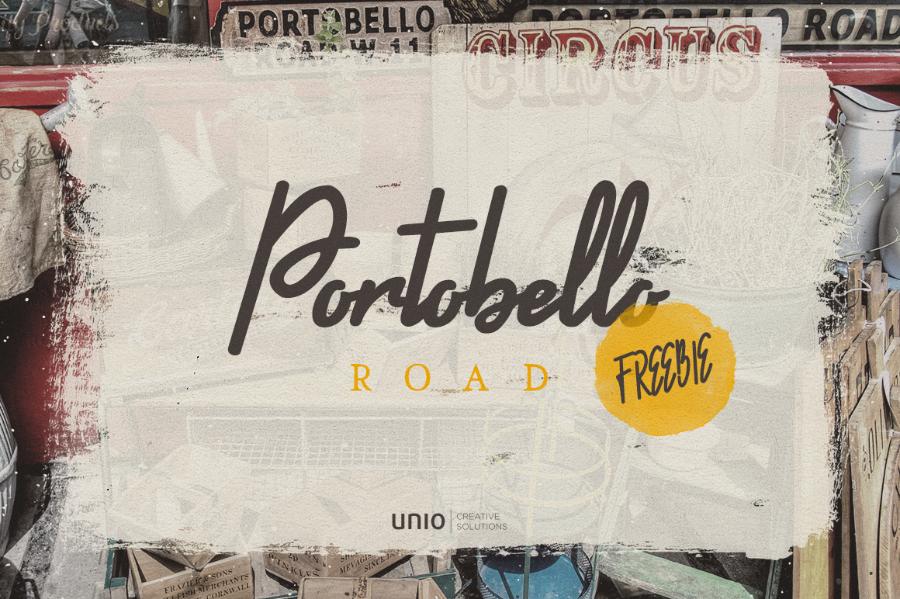 Portobello Road Free Font