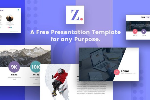 free powerpoint template, free keynote theme, free google slides theme