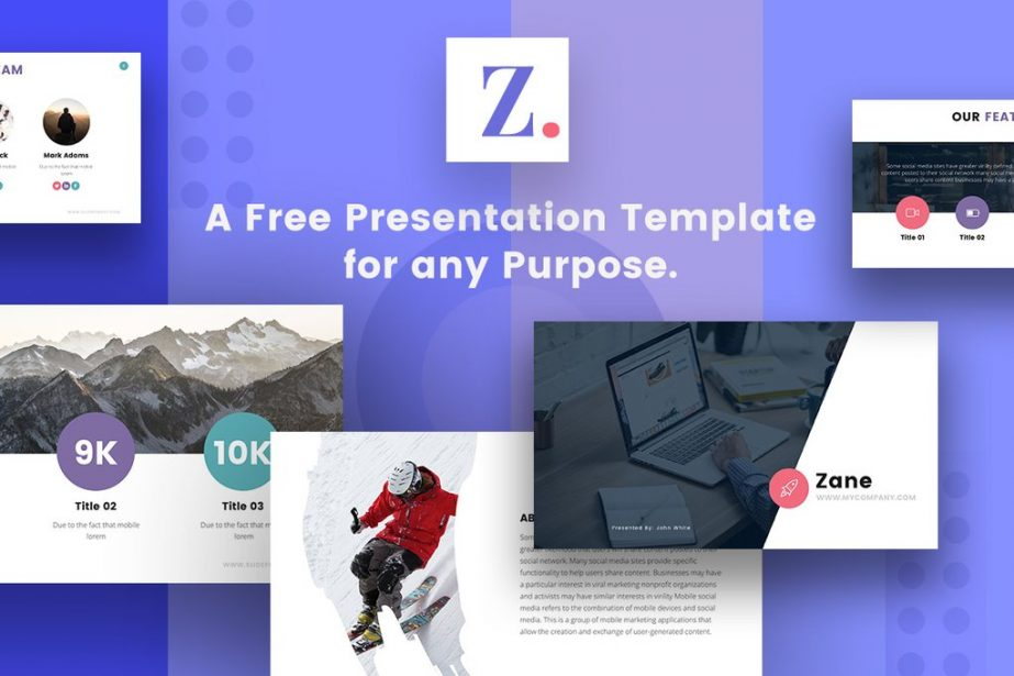 Free And Premium Professional Powerpoint Templates