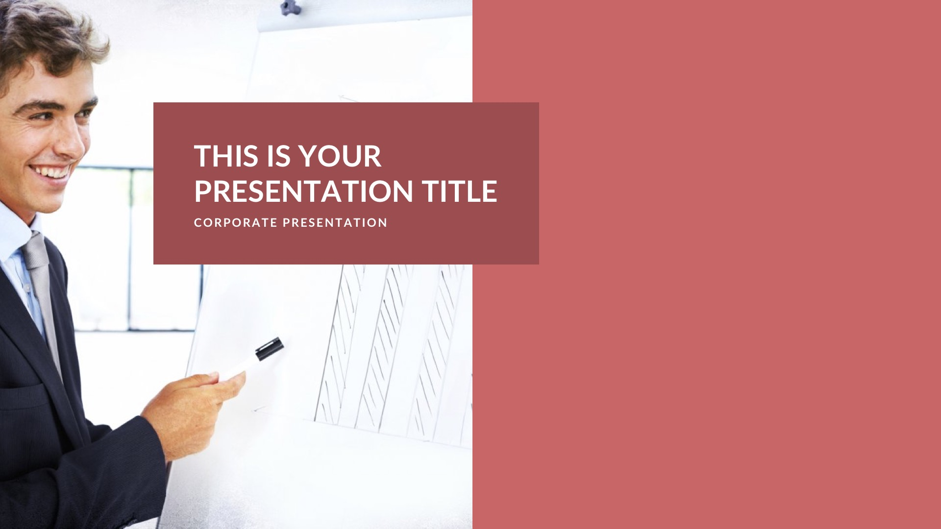 Flex Business Free PowerPoint Template, Keynote Theme, Google Slides