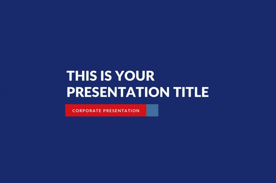 Patriot Business Free PowerPoint Template, Keynote Theme, Google Slides