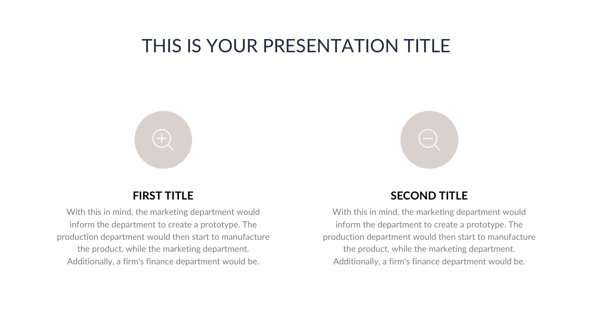 Elegant Business Free PowerPoint Template, Keynote Theme, Google Slides