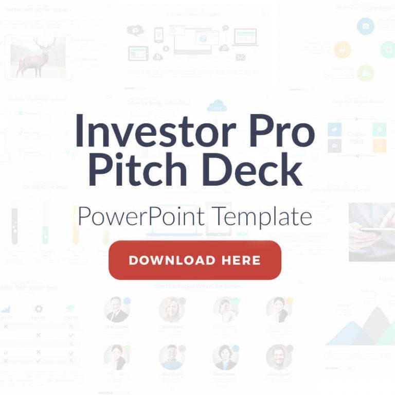 Banner Investor Pro Presentation Template