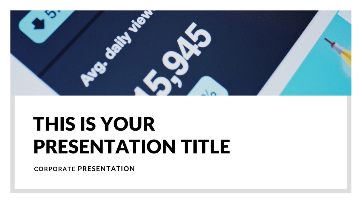 MNML Business Free PowerPoint Template