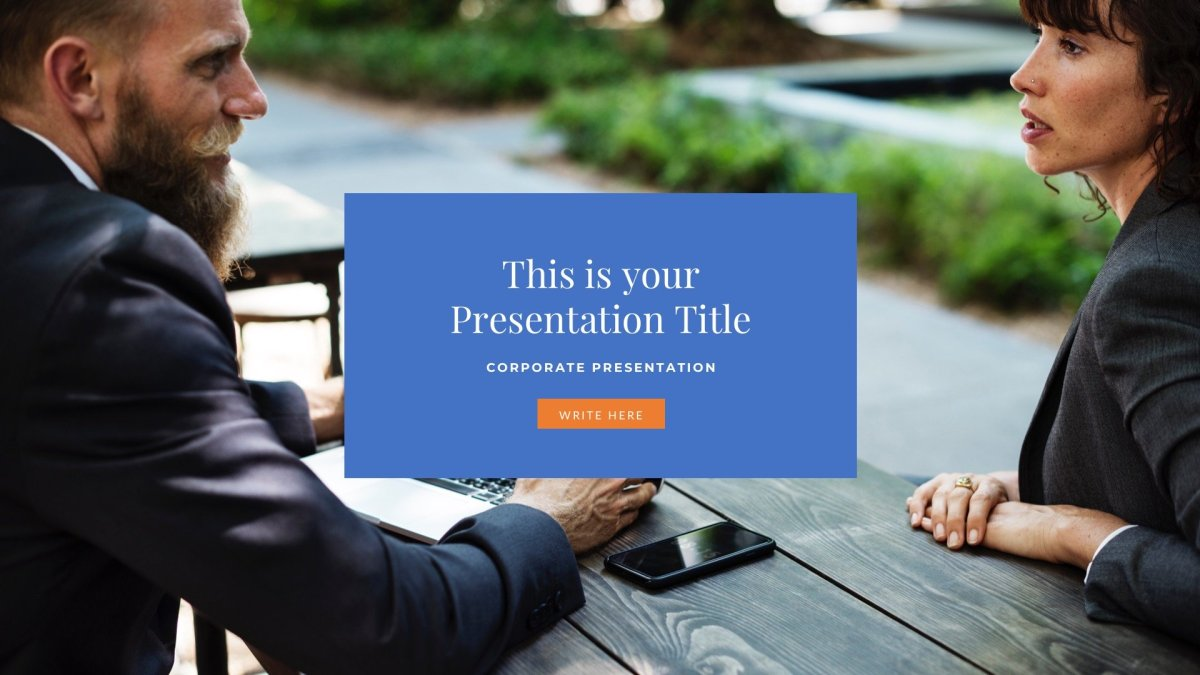 Master Business Free PowerPoint Template