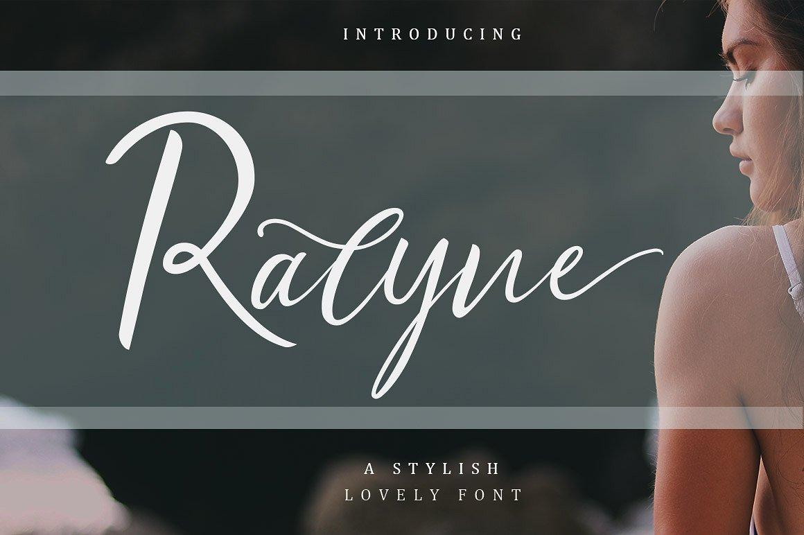 Ralyne Script Font Demo