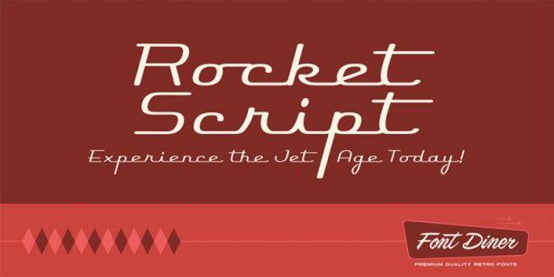 Rocket Script Font