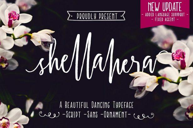 ShellaHera Script Free Font Demo