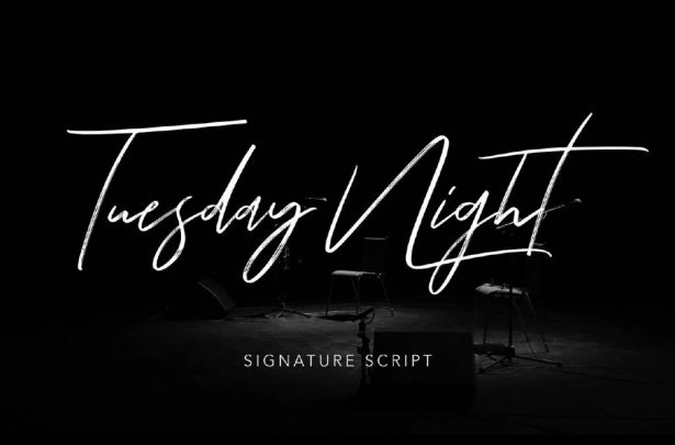 Tuesday Night - Free Signature Script