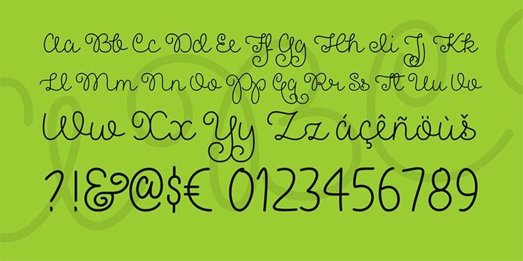 Pretty Girls Script Font