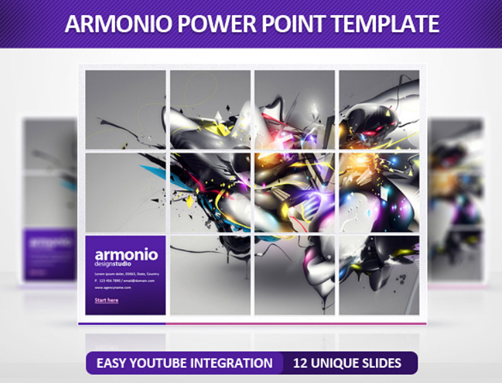 Armonio PowerPoint Template