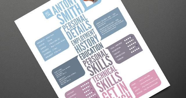 Creative Resume Template Vol 1