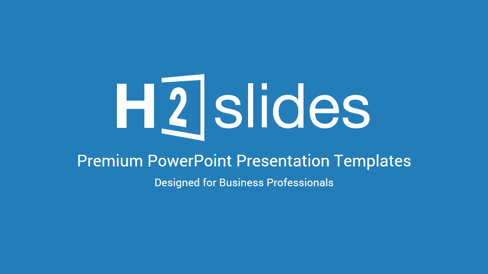 H2 Premium Source PowerPoint Template