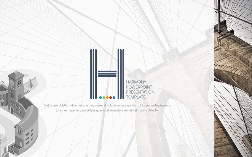 Harmony Usability PowerPoint Template