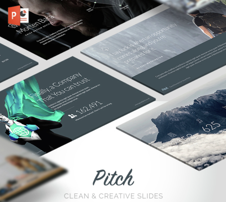 Pitch Modern PowerPoint Template