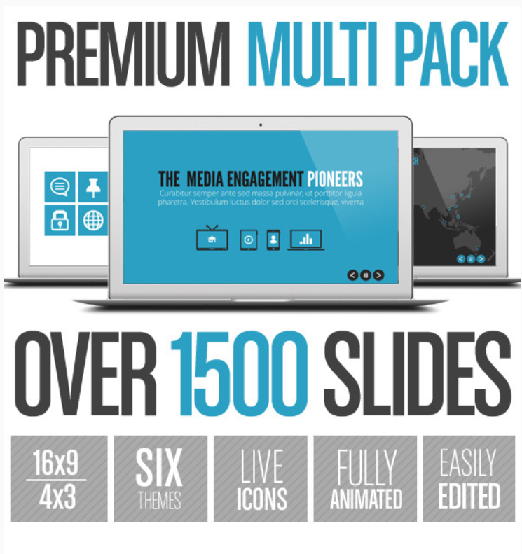 Premium Multi Pack PowerPoint Template