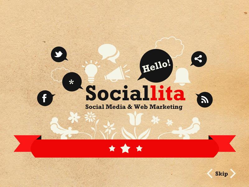 Sociallita PowerPoint Template