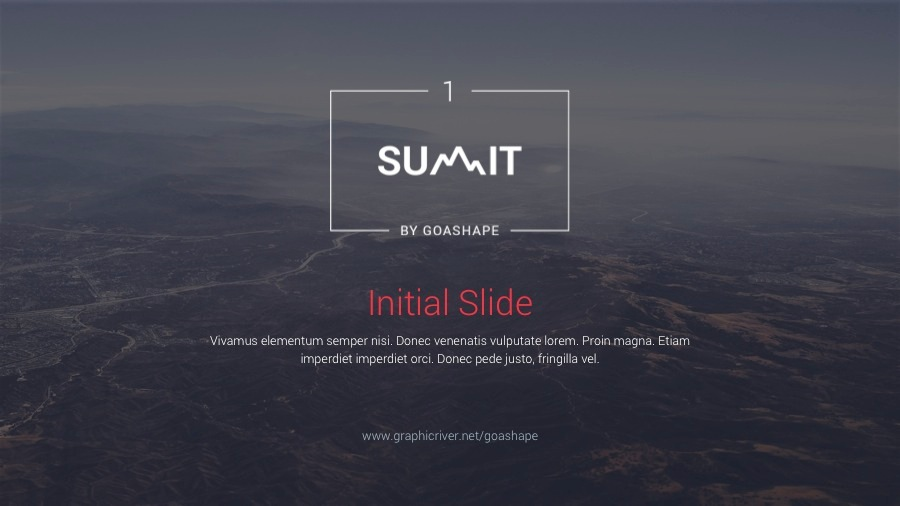 Summit 1 PowerPoint Template