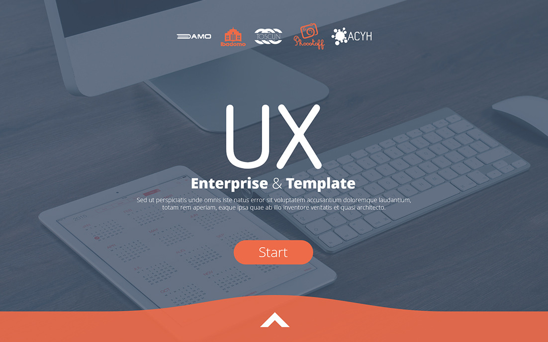 UX Enterprise PowerPoint Template