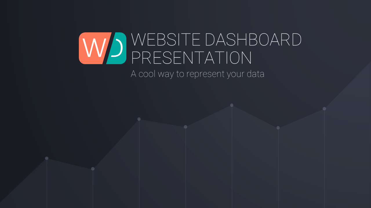 Website Dashboard PowerPoint Template