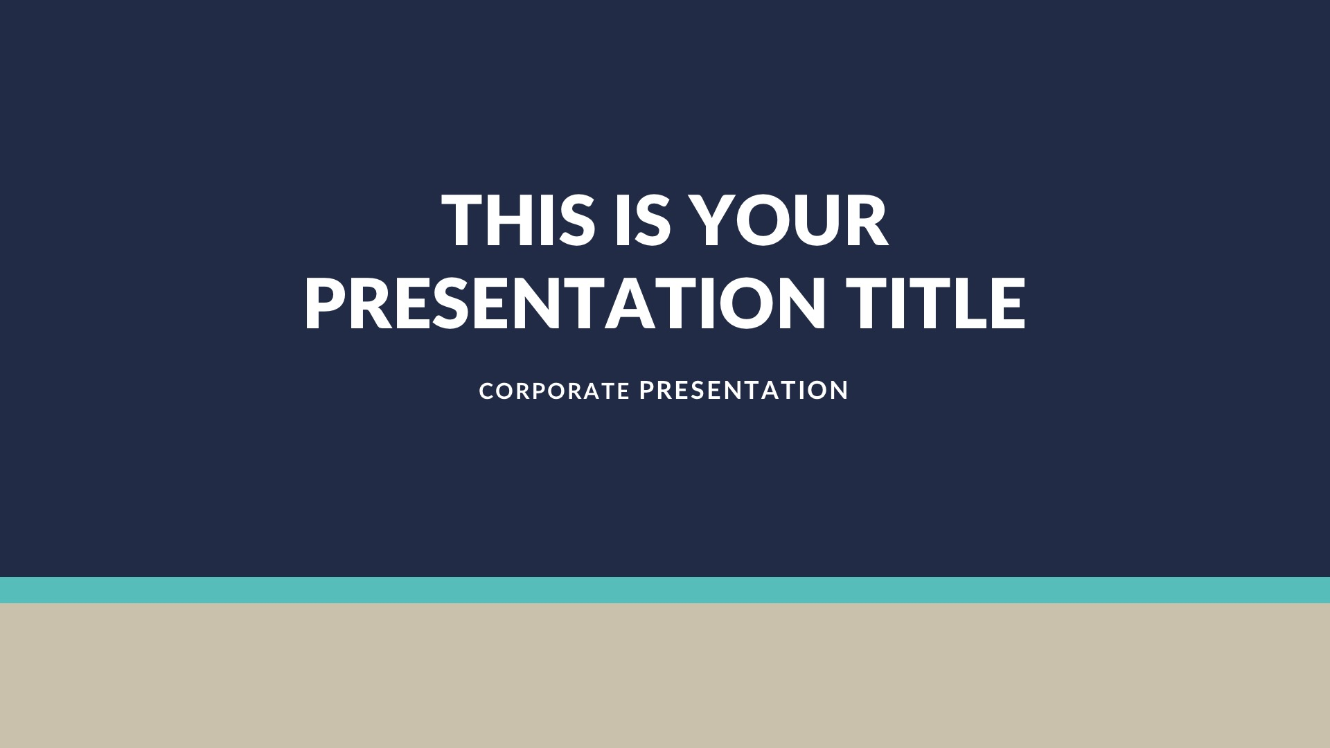 01 Achor Business Free PowerPoint Template, Keynote Theme, Google Slides