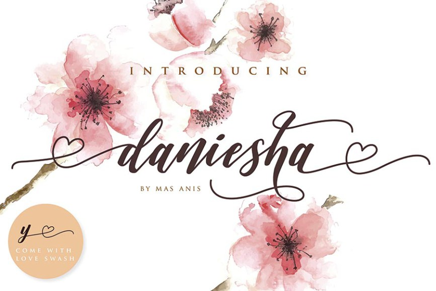 01 - Daniesha Romantic Script Demo