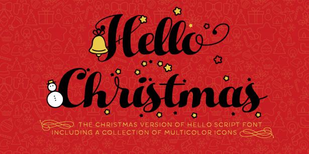 01 - Hello Free Script Font