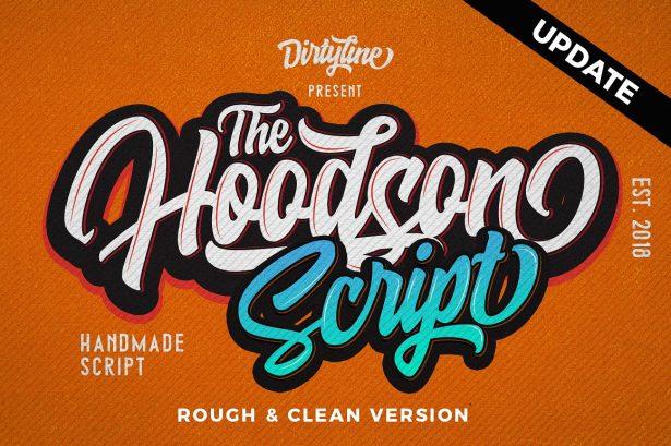 01 - Hoodson Script Font Demo