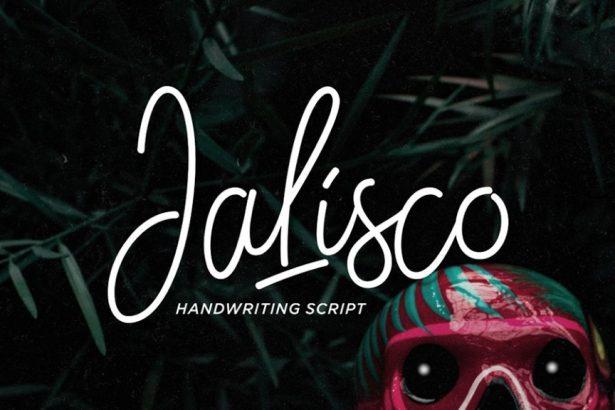 01 - Jalisco Script Free Font Demo
