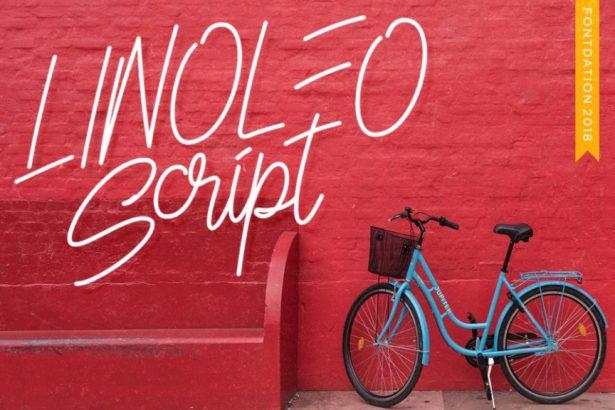 01 - Linoleo Script Free Demo