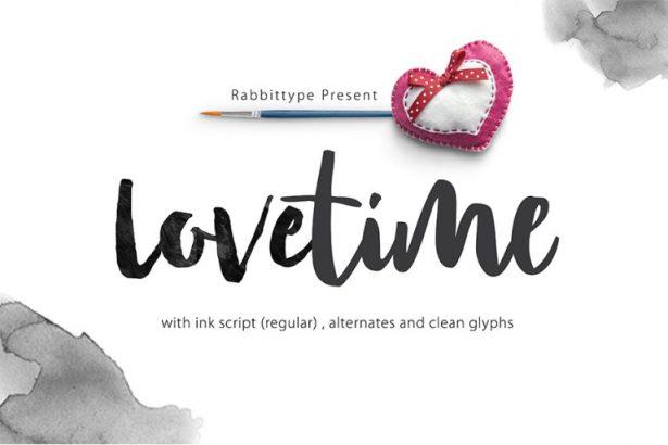 01 - Lovetime Script Font